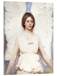 Acrylic glass  Angel - Abbott Thayer