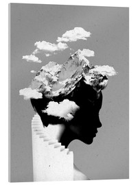 Acrylic print  Its a cloudy day - Robert Farkas