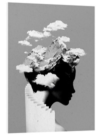 Foam board print  Its a cloudy day - Robert Farkas