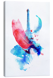 Canvas print  Pigeons of paris - Robert Farkas