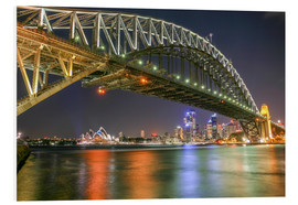 Foam board print  Sydney Harbour Bridge I - Thomas Hagenau