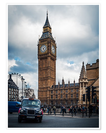 Premium poster  London - Big Ben - Alexander Voss