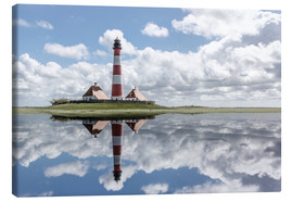 Canvas print  Lighthouse at the Northsea - Filtergrafia