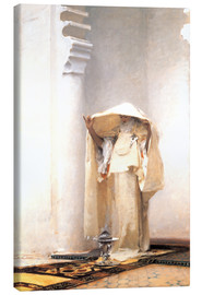 Canvas  The smoke of amber - John Singer Sargent
