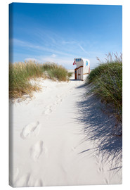 Canvas print  Sunny day on the beach - Reiner Würz