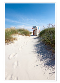 Premium poster  Sunny day on the beach - Reiner Würz