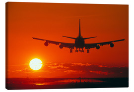 Canvas print  Boeing 747 - David Nunuk
