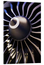 Acrylic print  Aircraft turbine - Mark Williamson