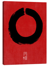 Canvas print  Enso in Japan - THE USUAL DESIGNERS