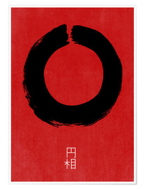 Poster  ENSO IN JAPAN - THE USUAL DESIGNERS