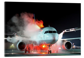 Acrylic print  De-icing of an Airbus A320 - HADYPHOTO by Hady Khandani
