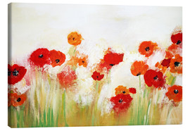 Canvas  Funny Poppy - Tina Melz