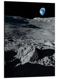 Aluminium print  Earth from the moon - Detlev van Ravenswaay