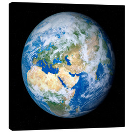 Canvas print  Earth from space - Detlev van Ravenswaay