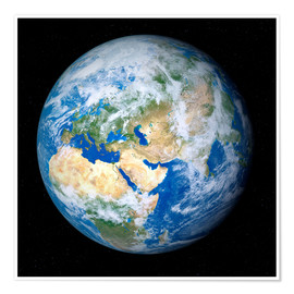 Premium poster  Earth from space - Detlev van Ravenswaay