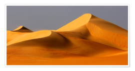 Premium poster  Great Sand Sea, Sahara - Moser