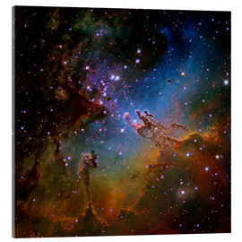 Acrylic print  Eagle Nebula, Optical Image - Robert Gendler