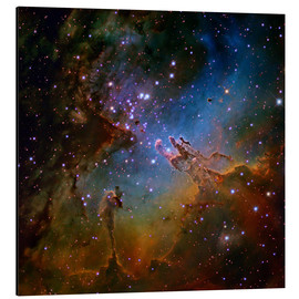 Aluminium print  Eagle Nebula, optical image - Robert Gendler