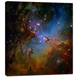 Canvas print  Eagle Nebula, optical image - Robert Gendler
