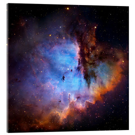 Acrylic glass  Starbirth region (NGC 281) - Robert Gendler