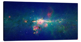 Canvas print  Milky Way (infrared image) - Nasa