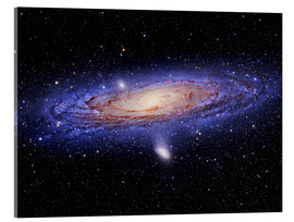 Acrylic glass  Andromeda galaxy - Tony & Daphne Hallas