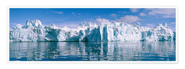 Premium poster  Ilulissat icefjord - Jeremy Walker