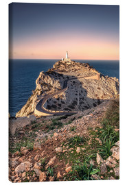 Canvas  Lighthouse Far des Cap de Formentor (Mallorca) - Dirk Wiemer