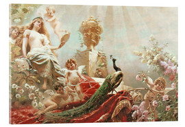 Acrylic print  The Toilet of Venus - Konstantin Jegorowitsch Makowski