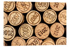 Acrylic glass  Wine corks vintages - rclassen