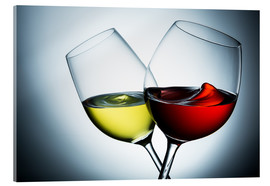 Acrylic glass  Wine varieties - rclassen