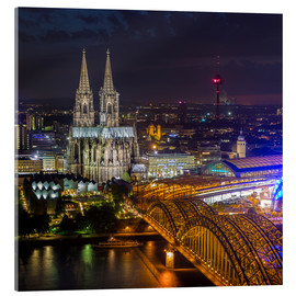 Acrylic print  Cologne Cathedral - rclassen