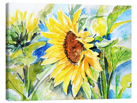 Canvas print  Sunflower 5 - Maria Földy