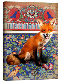 Canvas print  A Fox at Home - Mandy Reinmuth