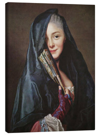 Canvas  Lady with veil - Alexander Roslin
