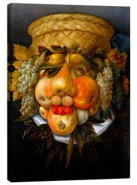 Canvas print  Portrait of a man from fruits - Giuseppe Arcimboldo