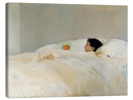 Canvas print  Mother - Joaquín Sorolla y Bastida