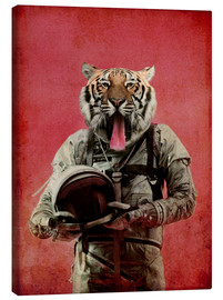 Canvas  Space tiger - Durro Art