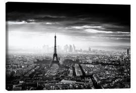 Canvas  Paris skyline - Jaco Marx