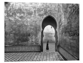 Foam board print  Old World - Ali Khataw