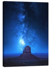 Canvas print  Monument Milkyway - Juan de Pablo