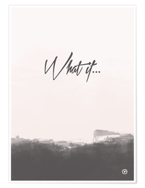 Poster  What if - m.belle