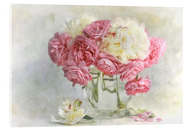 Lizzy Pe - roses and peonies