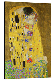 Gustav Klimt - The Kiss (portrait)