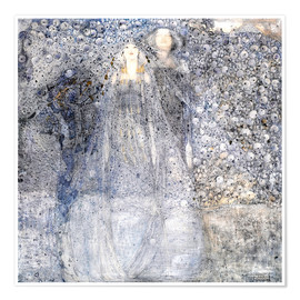 Premium poster  Silver Apples - Margaret MacDonald Mackintosh