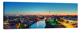 Canvas  Berlin Skyline Panorama - Marcus Klepper