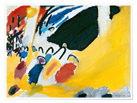 Premium poster  Impression III (Concert) - Wassily Kandinsky