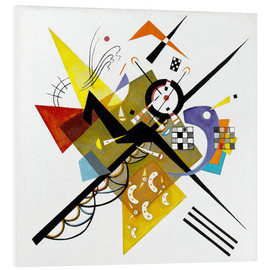 Foam board print  On White II - Wassily Kandinsky