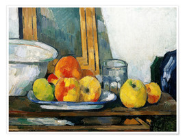 Premium poster Still life with open drawer