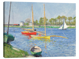 Canvas print  The Seine at Argenteuil - Gustave Caillebotte